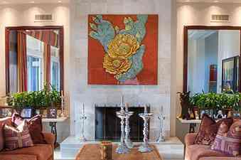 Ali living room mural