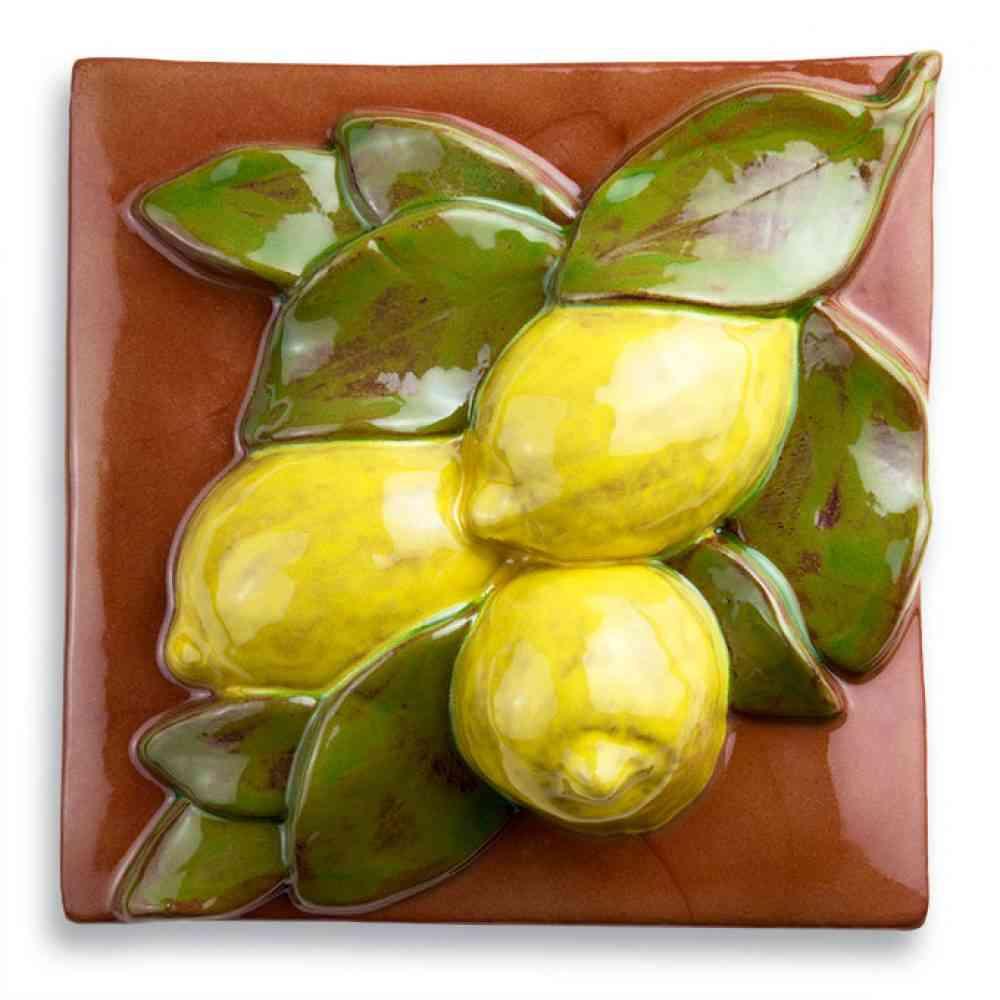 Lemon tile med terracotta jim sudal ceramic design lemon tile med terracotta dailygadgetfo Image collections